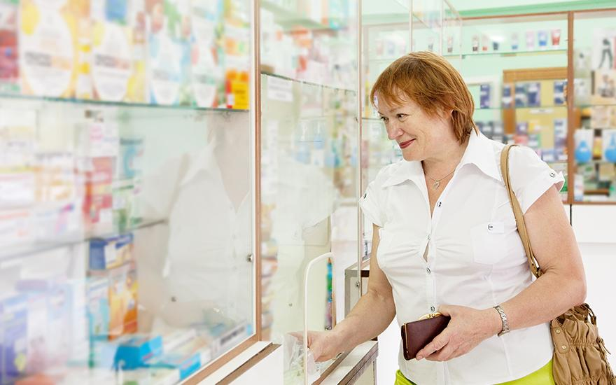Zákazník v lekárni